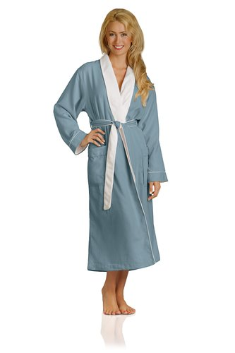 Luxury Spa Robe - Microfiber with Cotton Terry Lining