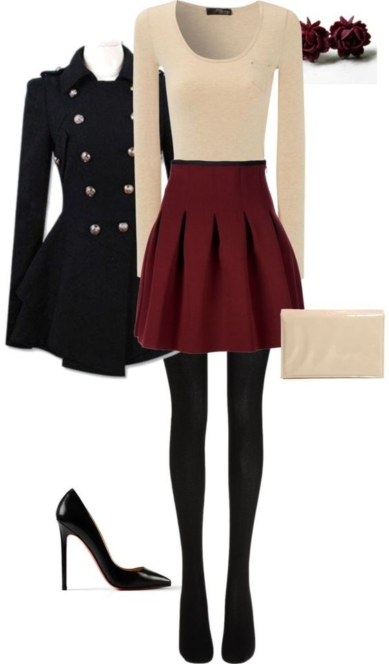 Classic Polyvore Outfits For Winter