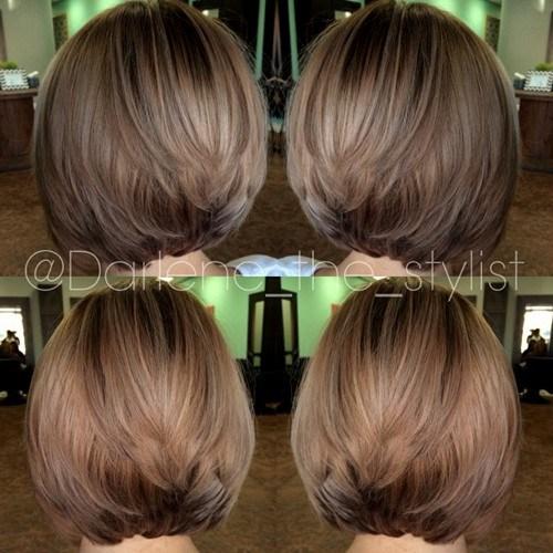 Balayage Hairstyles for Short Hair