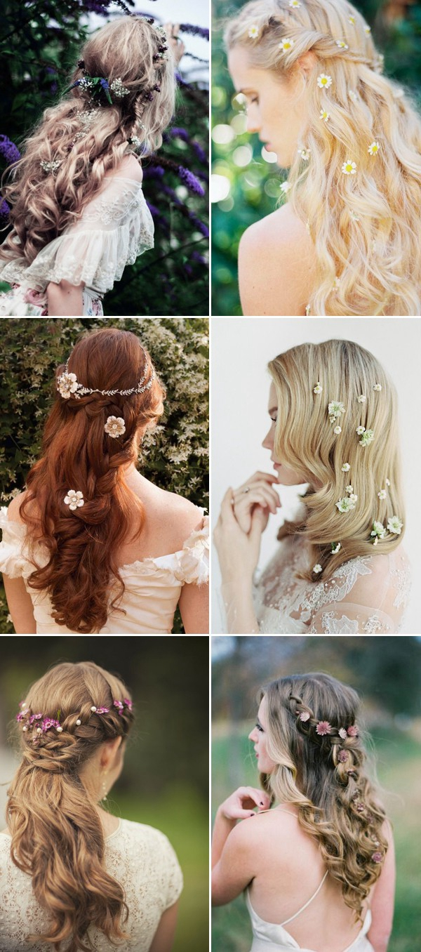 half-up-half-down-wedding-hairstyles-with-flowers