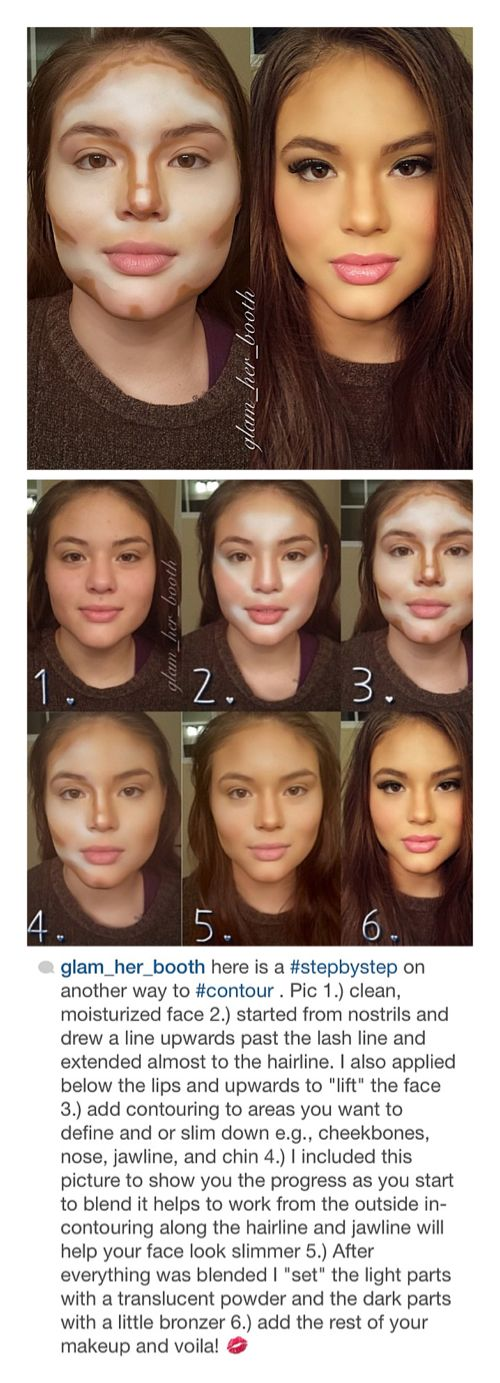 how to Contouring and Highlighting Step-by-Step