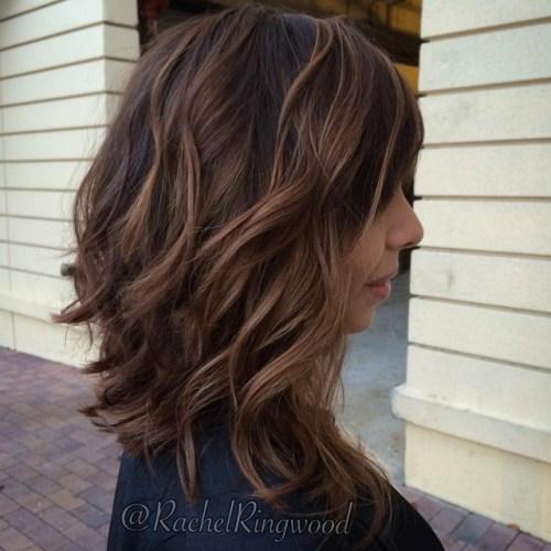 Medium Balayage Hairstyles