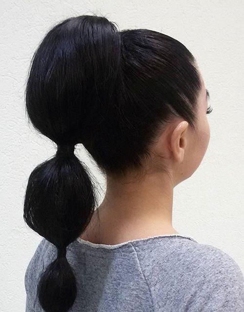 Cute Ponytails for Long & Medium Length Hair