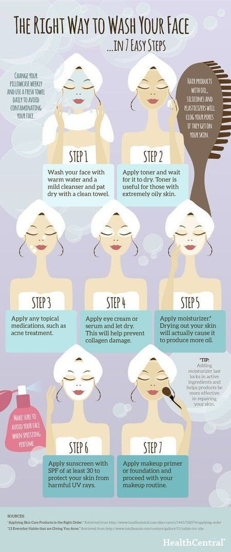 7 Easy Ways to Take Care of Your Skin