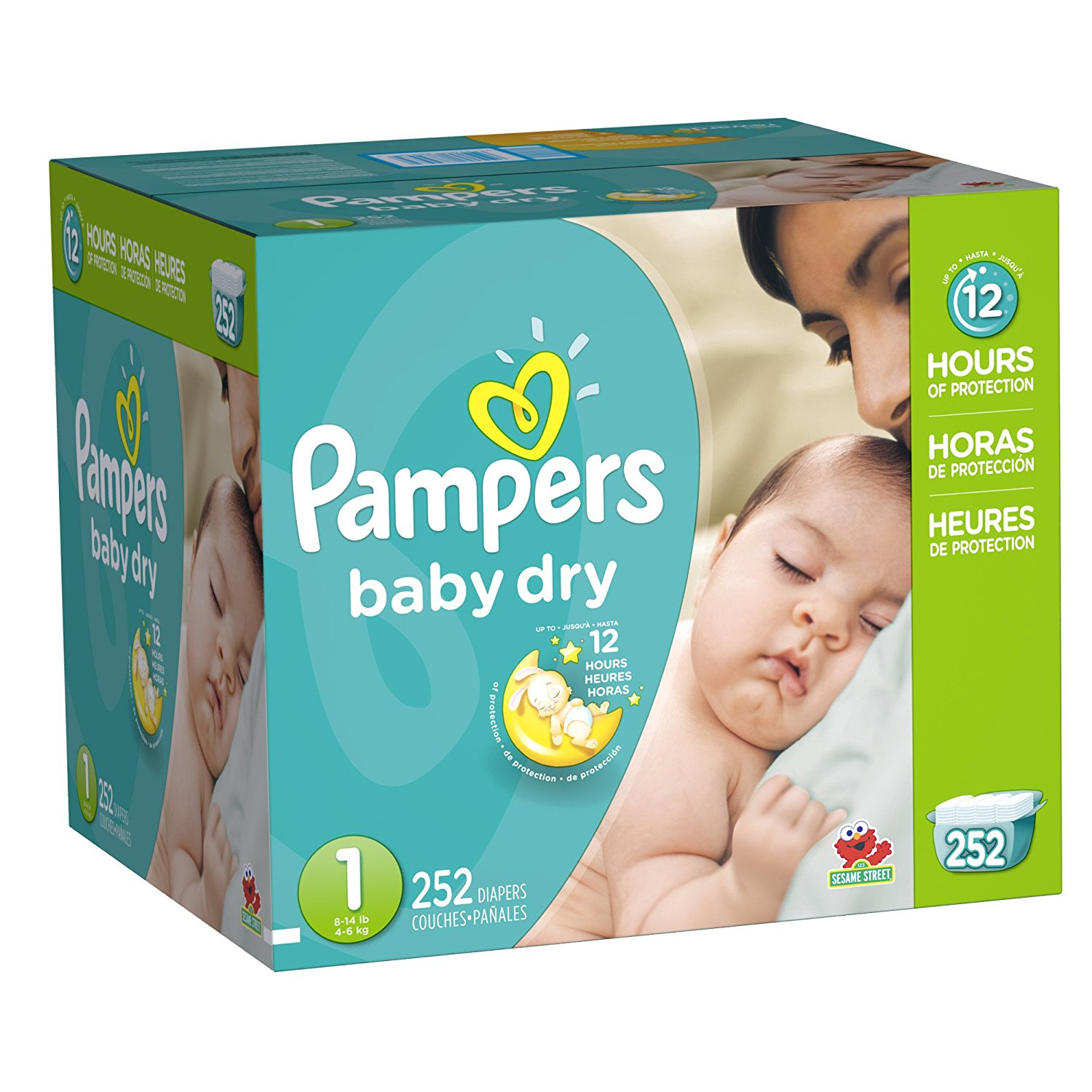 81g8mipHhkL. SL1500 Top 10 Best Baby Diapers 2021 - Affordable Disposable Baby Diaper Reviews