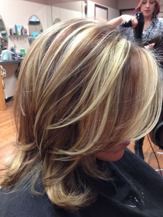 Layered Shoulder Length Hairstyles
