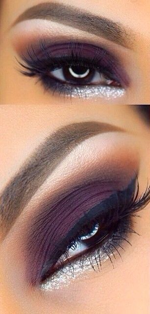 New Year's Eve Eye Makeup