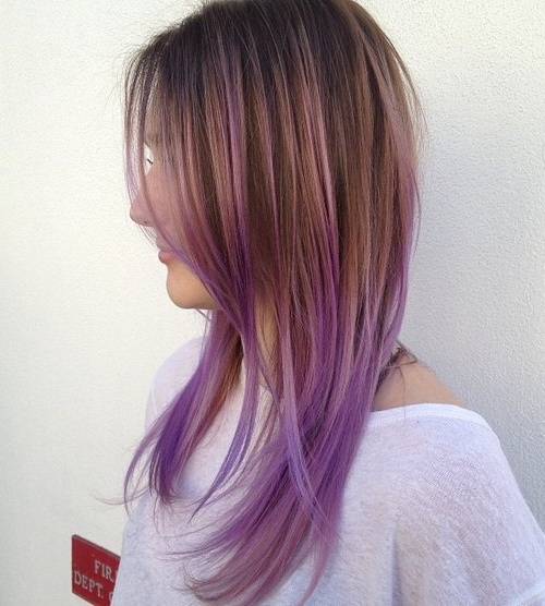 Ombre Hairstyles for Long Hair