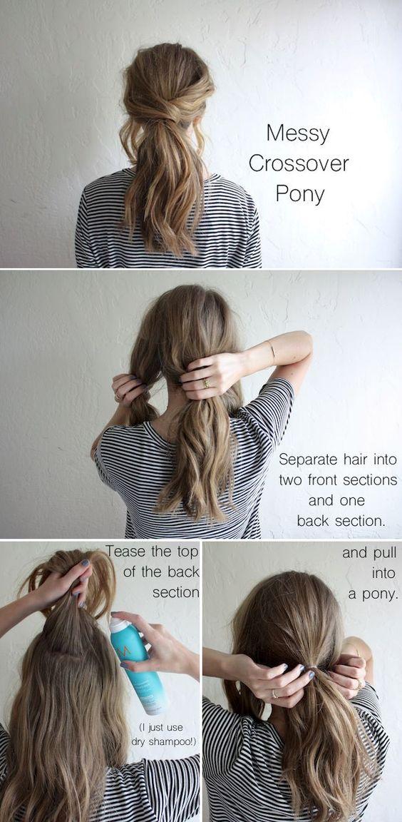 Step By Step Ponytail Tutorial