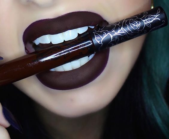How to Rock Dark Lipstick