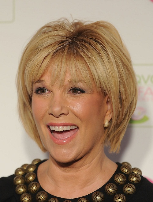 short hairstyles for thick hair women over 50