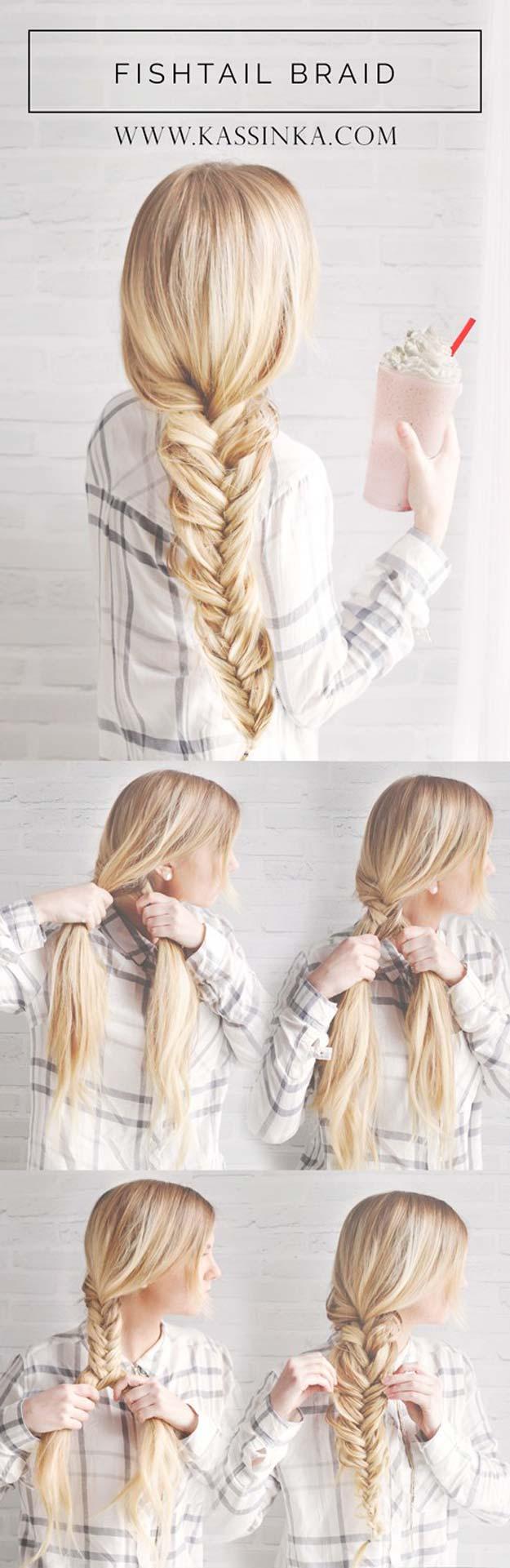 Simple Easy Step by Step Braid Tutorials