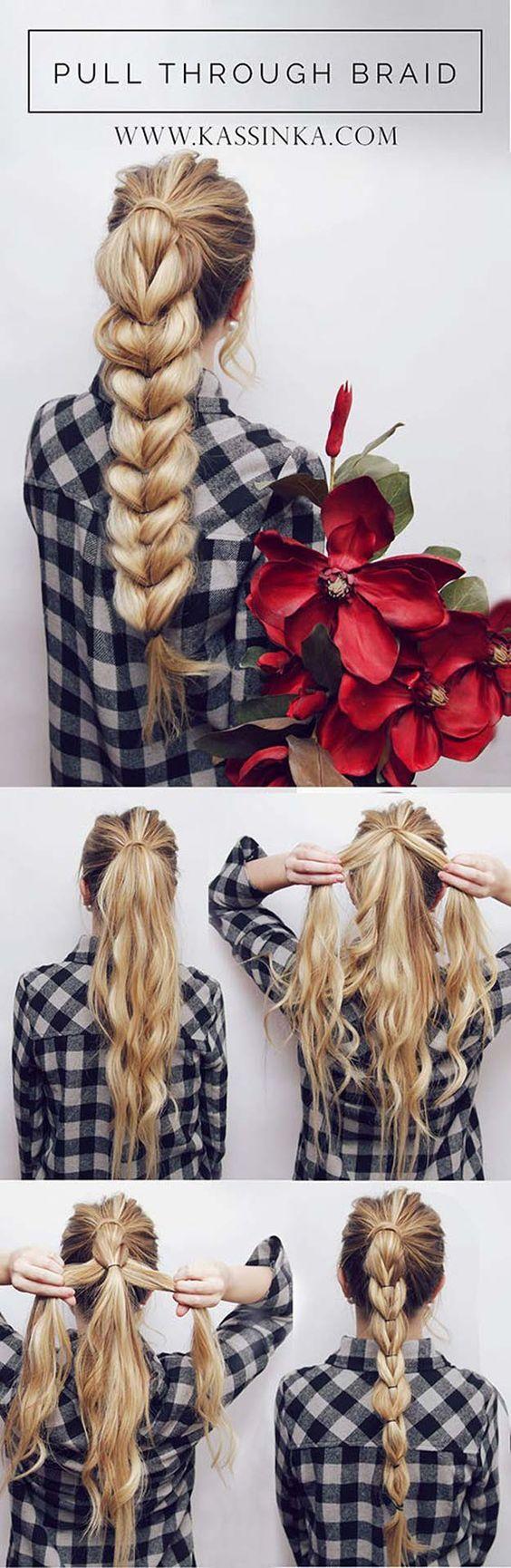Simple Easy Step by Step Hair Tutorials