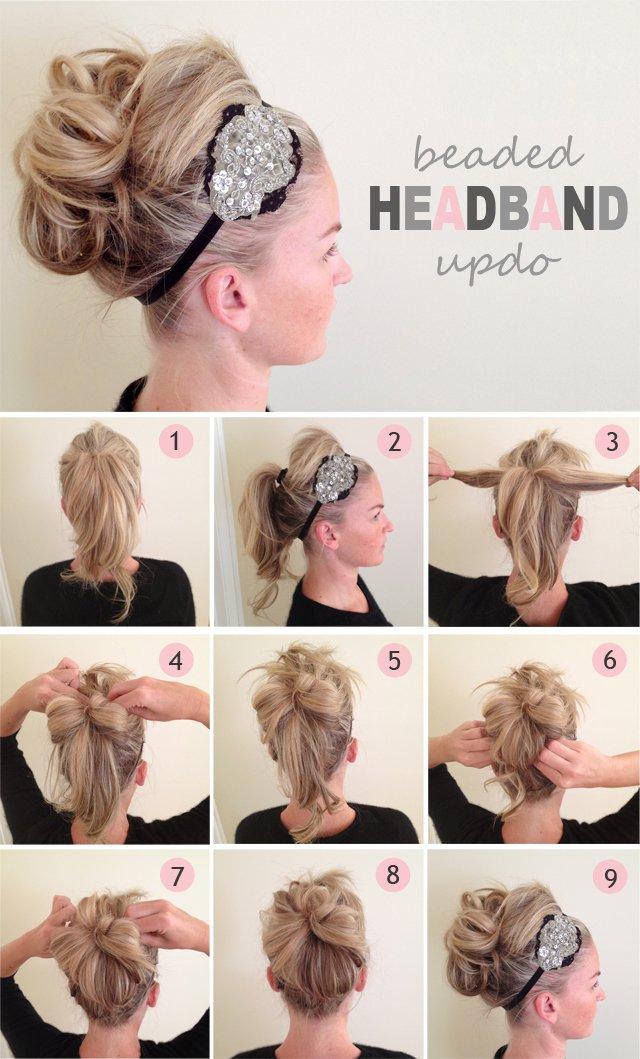 Step by Step Hair Tutorials for Medium Hair