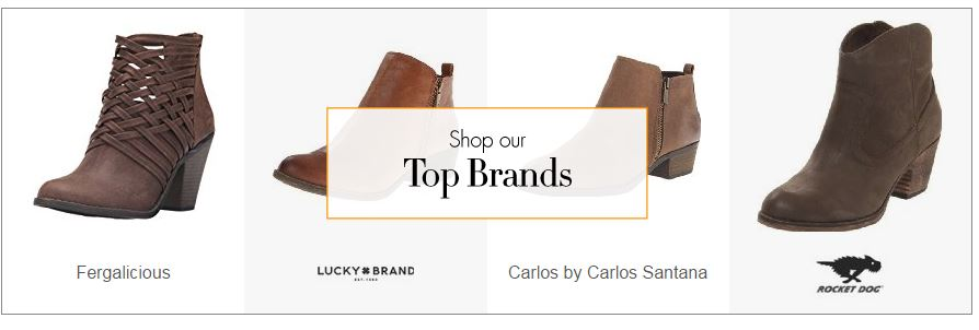 top Ankle Boots brands