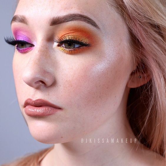 How to Pull Off Mismatched Eye Makeup