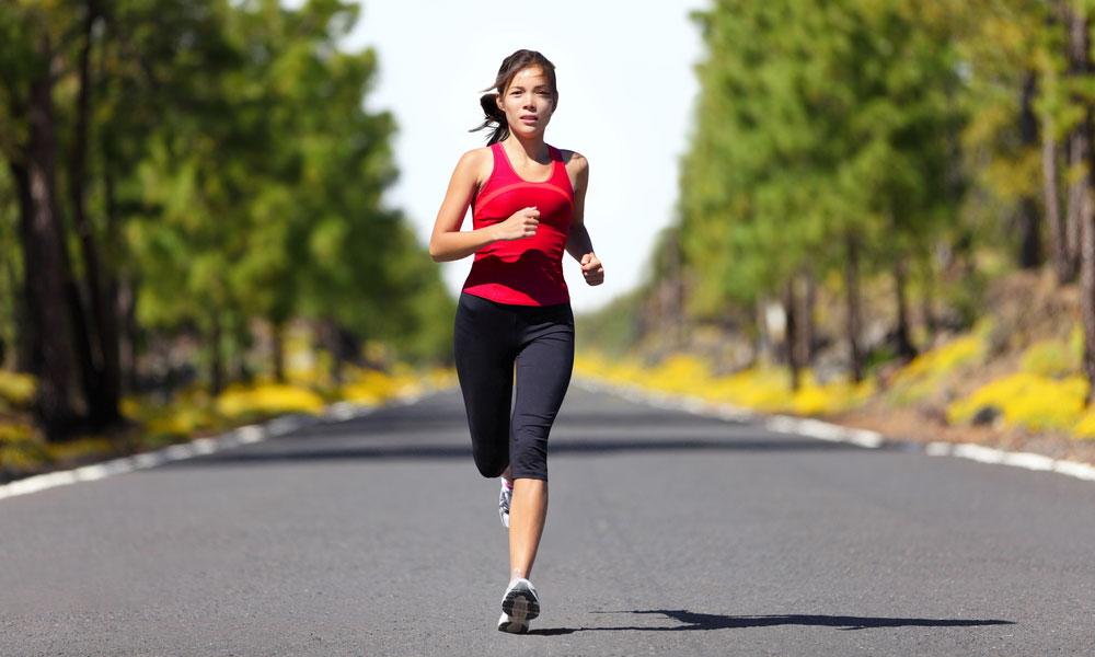long distance running women