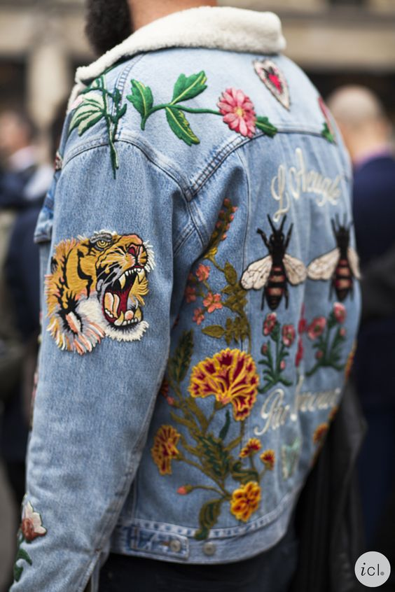Trendy Embroidered Items of Clothing