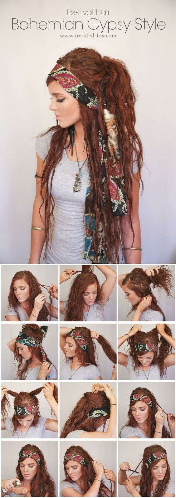10 Beautiful Bohemian Hairstyles You'll Want To Try