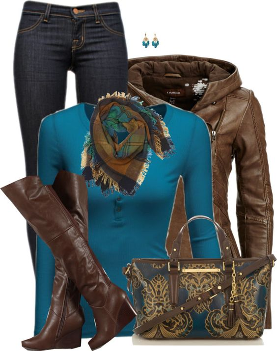 11 Cute Cozy Fall Outfits With Scarves