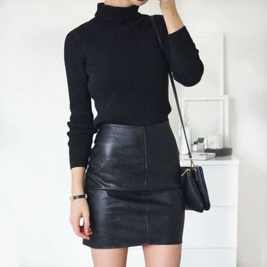 How to Pull Off a Stunning All Black Look