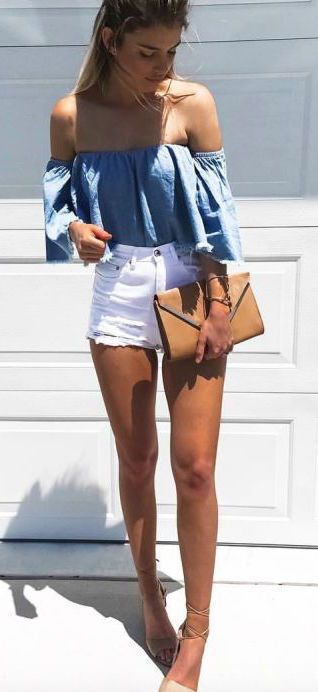 How to Wear High-Waisted Shorts