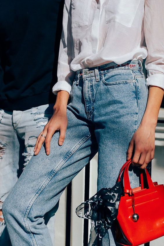 How to Wear Vintage Denim