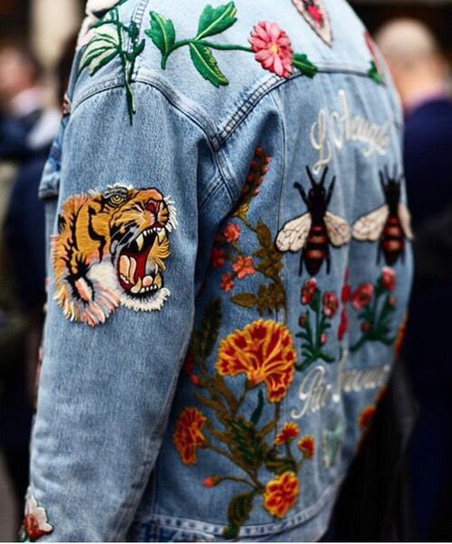 How to Wear Embroidered Denim