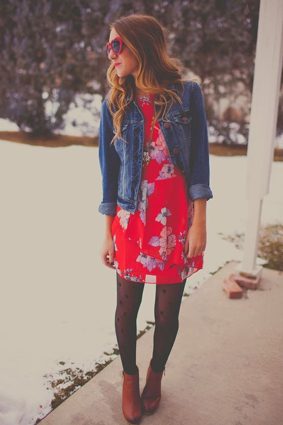7 Ways to Wear a Dress in the Winter