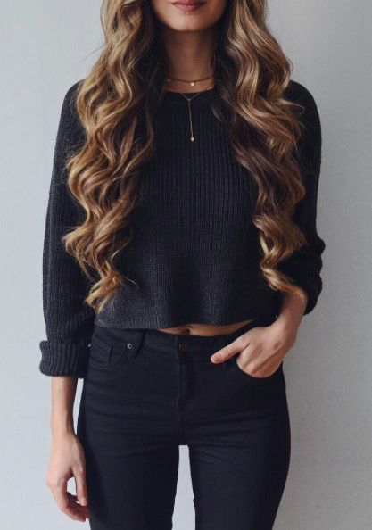 How to Rock a Cropped Sweater