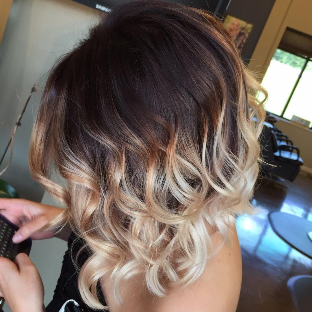 Image result for short ombre hair