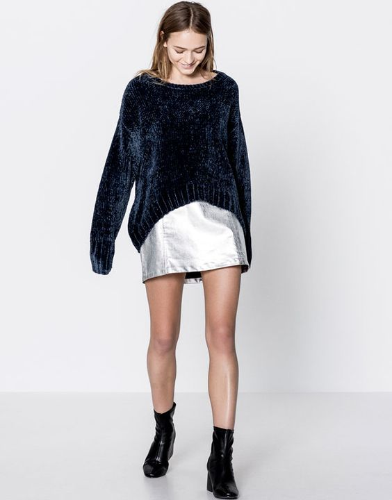 How to Pull Off a Chenille Sweater
