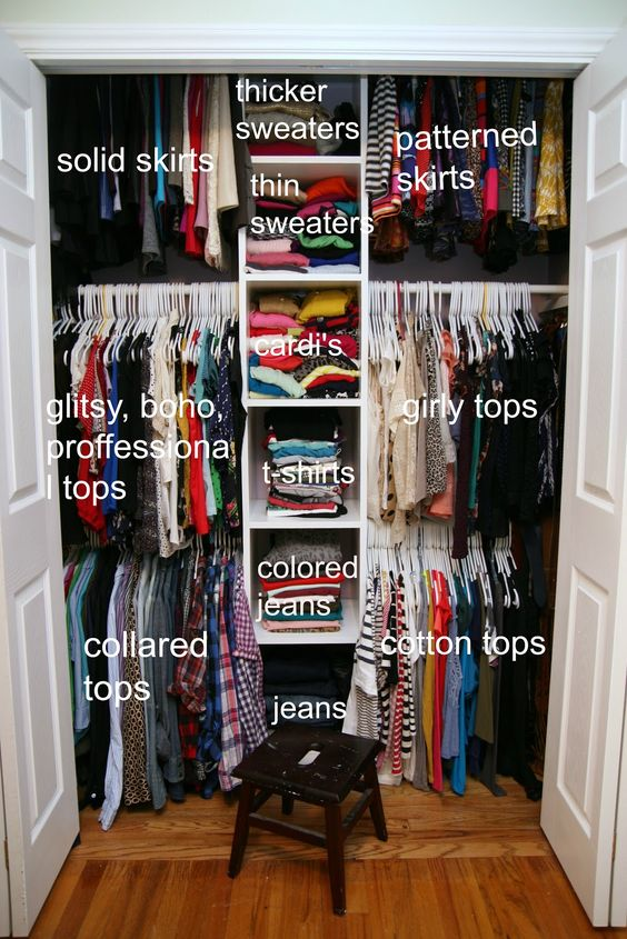 Tips for Spring Cleaning Your Closet