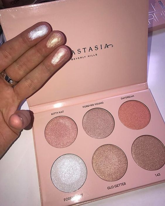 Anastasia Beverly Hills glow kit comes with every highlighter every makeup junky needs