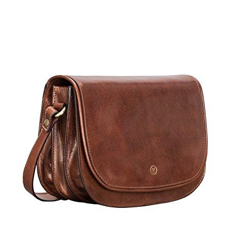 Maxwell Scott Luxury Tan Country Handbag (MedollaM) - Medium