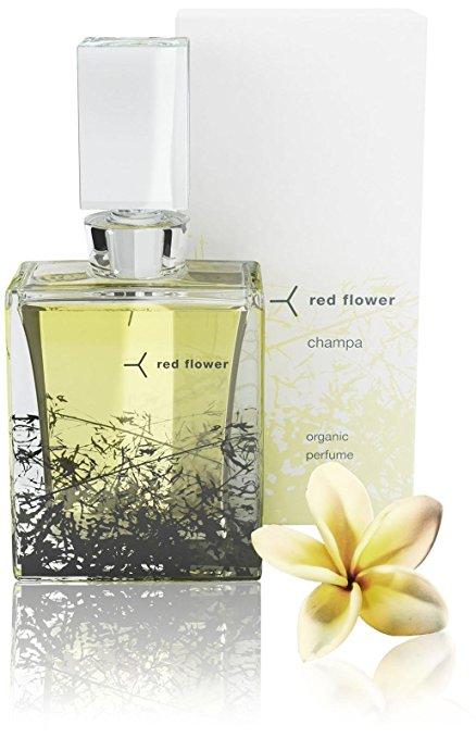 Red Flower 15ml Champa Organic Perfume, 0.500 oz.