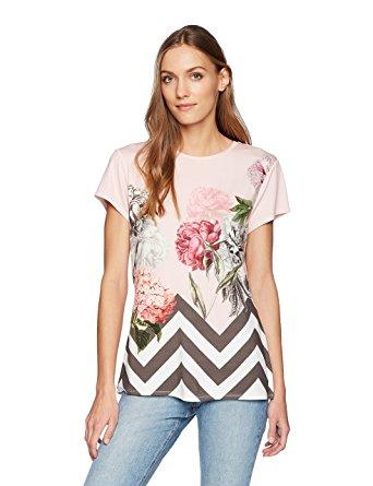 Ted Baker Women's Eeidan Shirt, Dusky Pink, 0