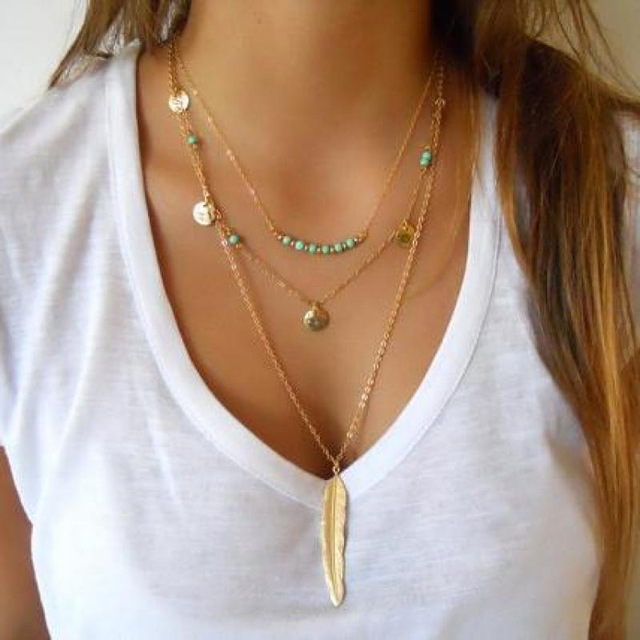 Image result for Layer Necklaces