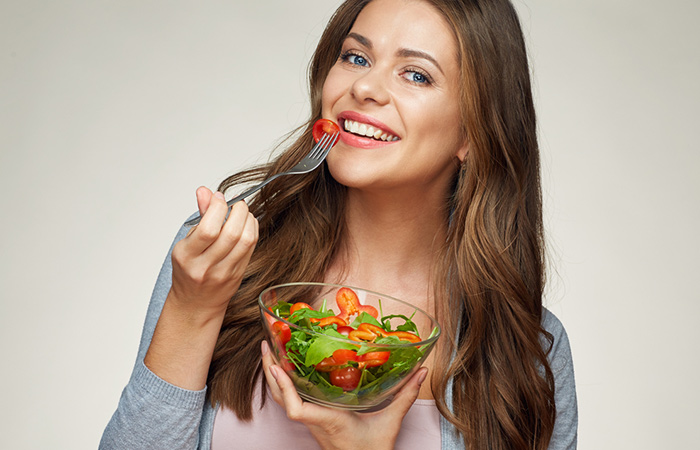 Image result for woman eating ab diet