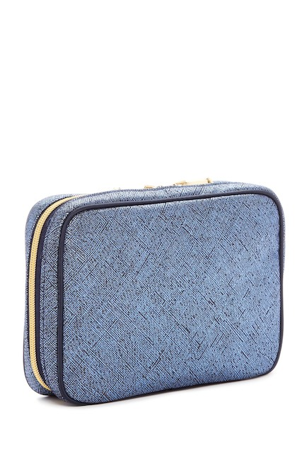 Image of Kestrel Artisan Shade Solid Organizer 3 Piece Set - Blue