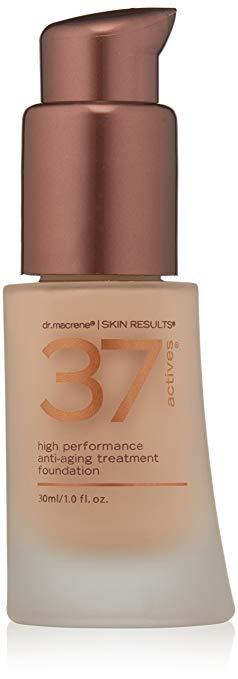 37 Actives High Performance Anti-Aging Treatment Foundation, Medium, 1 oz.