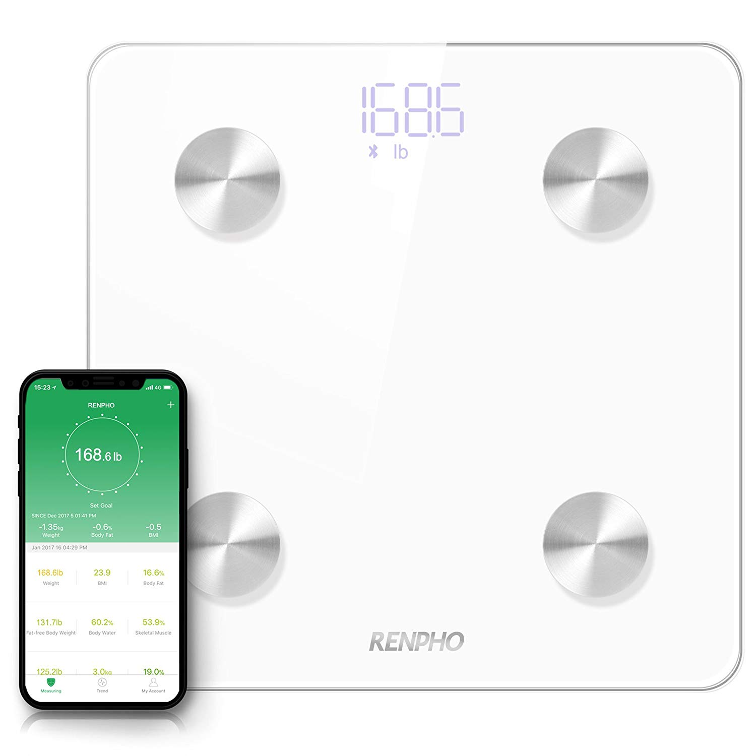 6 best and most accurate bathroom scales 1 6 Most Accurate Bathroom Scales - Body Composition Monitor for All