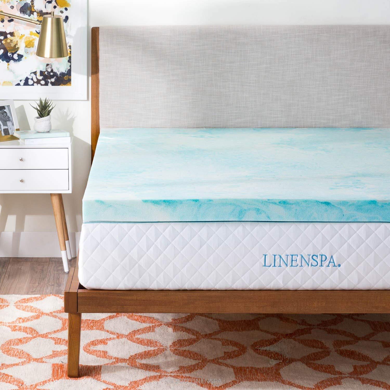 best memory foam mattress toppers 1 6 Best Memory Foam Mattress Toppers for All Sizes