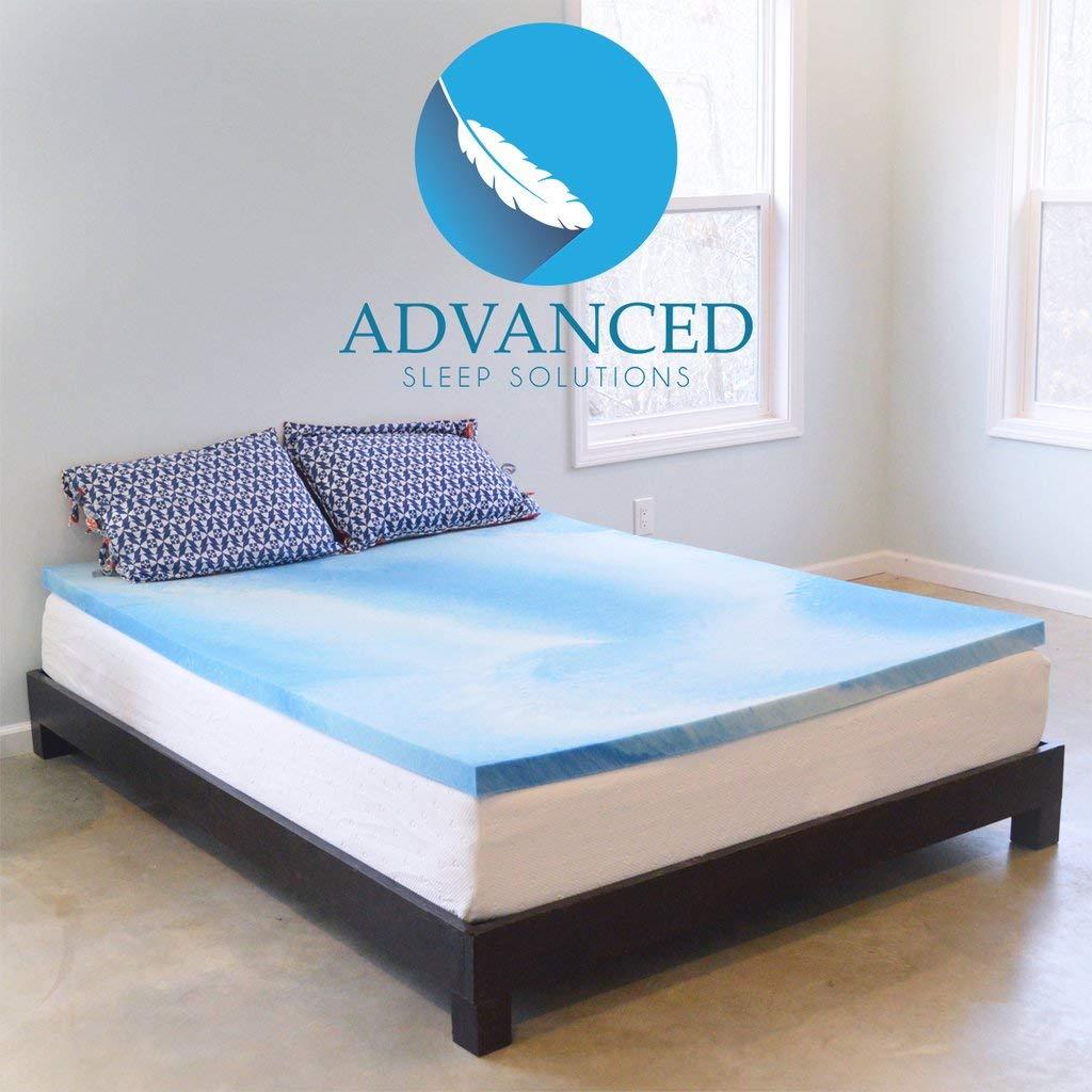 best memory foam mattress toppers 4 6 Best Memory Foam Mattress Toppers for All Sizes