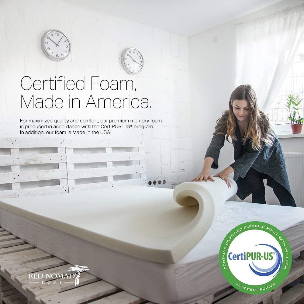 best memory foam mattress toppers 5 6 Best Memory Foam Mattress Toppers for All Sizes