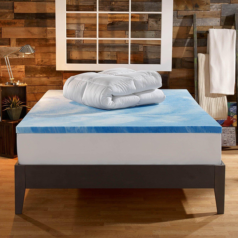 best memory foam mattress toppers 6 Best Memory Foam Mattress Toppers for All Sizes