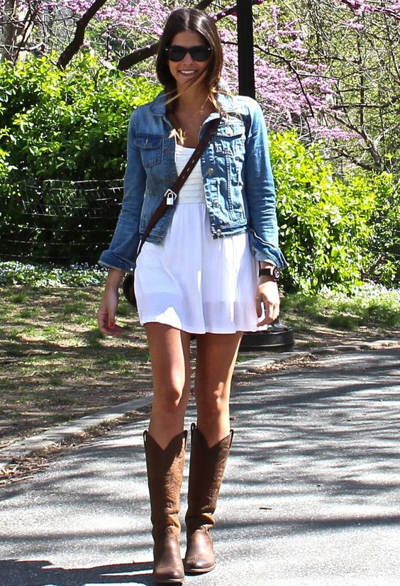 spring cowgirl look