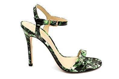 Christina Lombardi - Women's High Heel Sandal - The Heidi in Green Leaf - Size 39.5