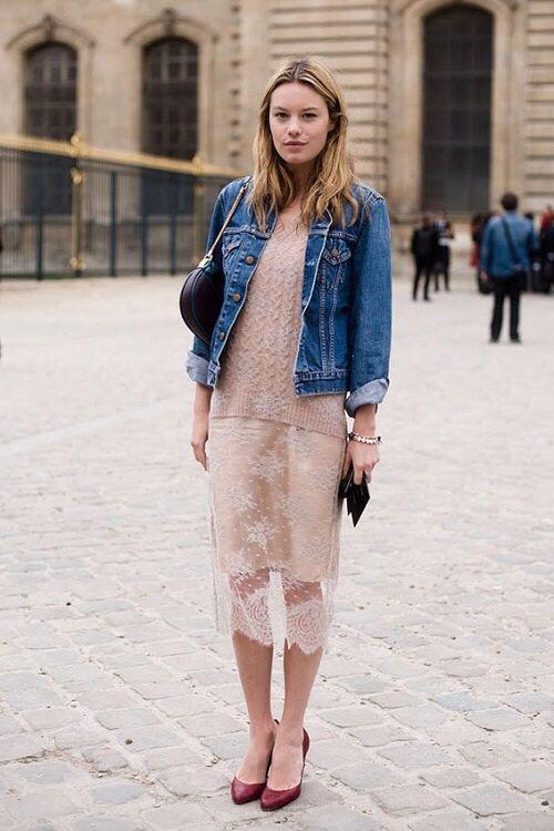 pink-blush-lace-pencil-skirt-jean-jacket-denim-jacket-spring-work-weekend-shower-party-date-via-theyallhateus