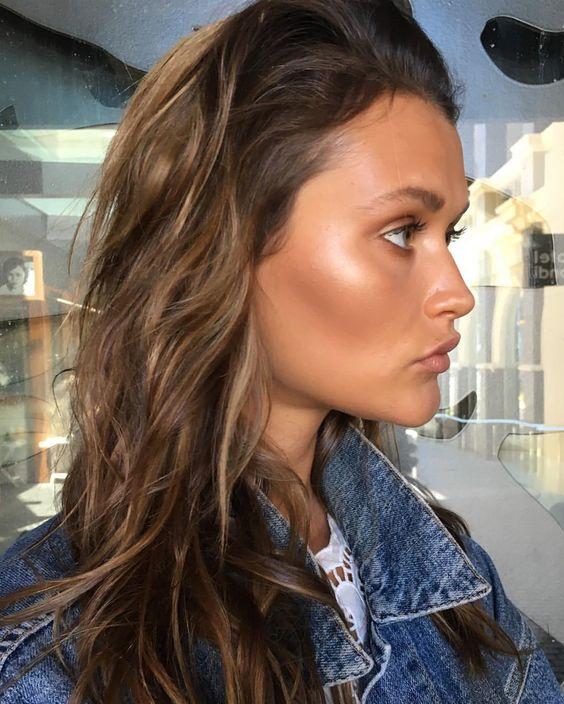 "185 Likes, 11 Comments - Nisha Van Berkel (@nishavanberkelmakeup) on Instagram: ""Profile perfection shooting with @chloelecareux for @tuchuzystore #hair #makeup #nofilter…"""
